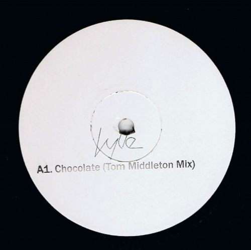 KYLIE MINOGUE Chocolate (Tom Middleton Mix) Vinyl Record 12 Inch Parlophone 2004 Promo